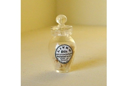 1:12 British Made Liver Pills Jar