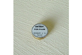 12th Scale pile Ointment Tin