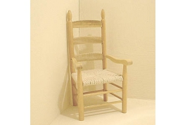 Pine Carver Chair 12th Scale