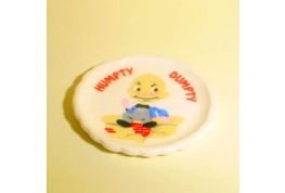 China Nursery Plate Humpty Dumpty