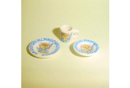Set of 3  Nursery Mouse China