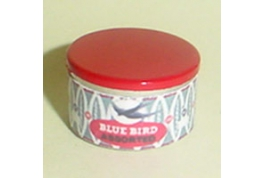 Blue Bird Sweet Tin Round