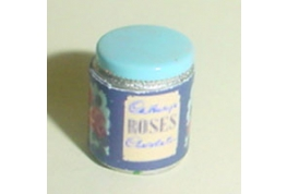 1:12 Scale Small Roses Tin