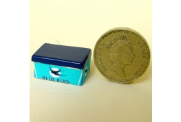 1:12 Scale Blue Bird Sweet Tin