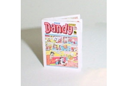 Dollhouse Miniature Dandy Comic