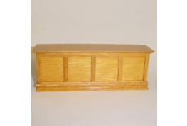 Pine Effect Wooden Shop Or Pub Counter