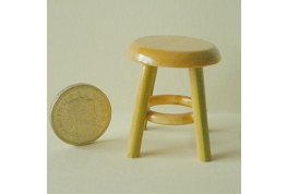 Kitchen Stool Pine Colour
